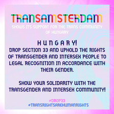 TransAmsterdam Statement #drop33