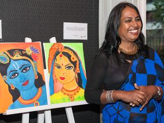 Te koop kunstwerken van Kalki Subramaniam
