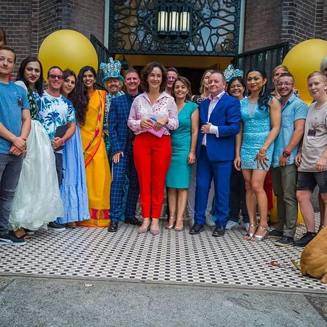 Opening Amsterdam Pride 2018 with the ma