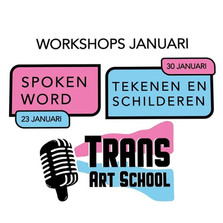 Workshops Spoken Word - Teken & Schilderen