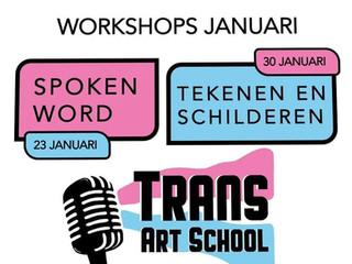 Workshops Spoken Word - Teken & Schilderen