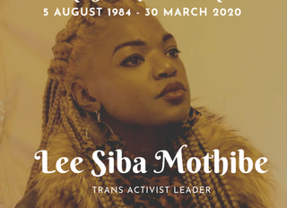 We honor transgender activist Lee Siba