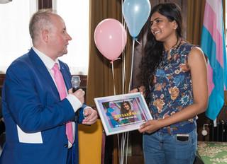 We proudly present Neysara Rai TransAmsterdam Ambassador for life