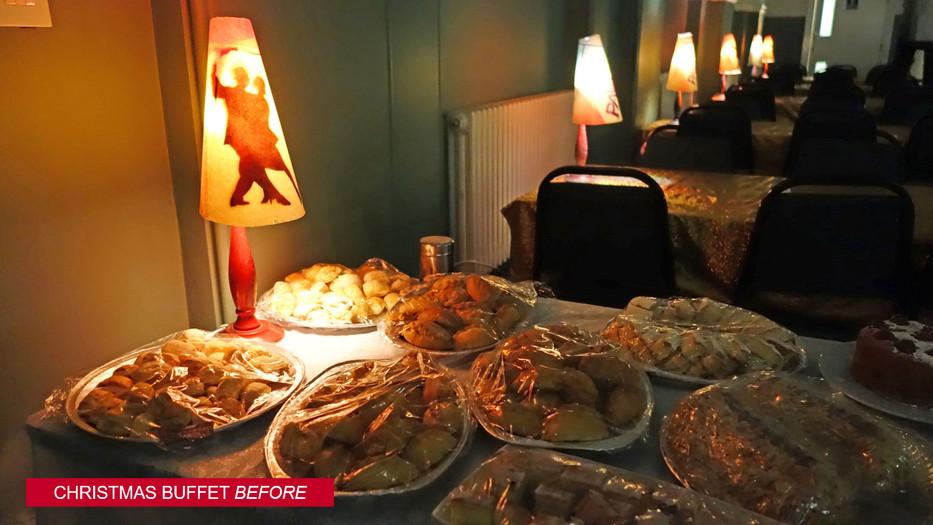 Christmas Buffet-Before