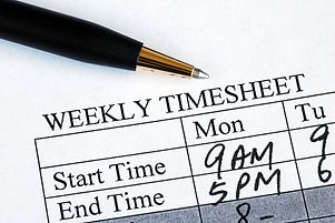Enter the weekly time sheet concepts of work hours reporting.jpg