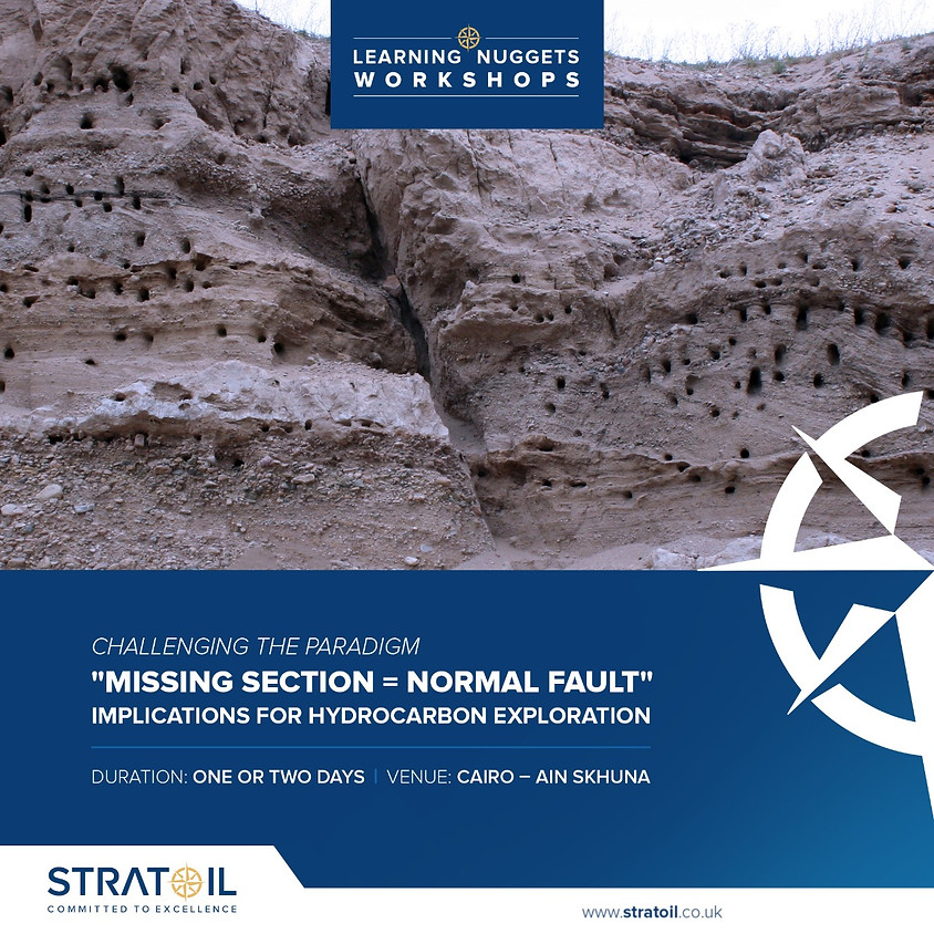 """Coming Soon : Challenging the Paradigm """"Missing Section = Normal Fault"""" and Implications for Hydrocarbon Exploration"""