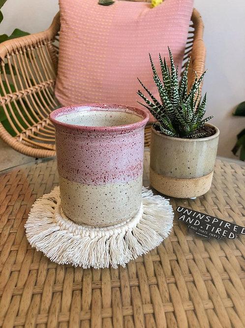 Spruce & Stone Mug Rug