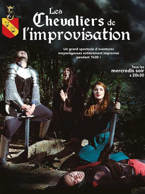 Les chevaliers de l'improvisation - les mercredis du 12 oct au 21 déc - 20h30