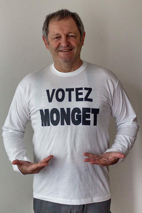 Votez Monget, 2 au 14 avril (dim, mer, ven)
