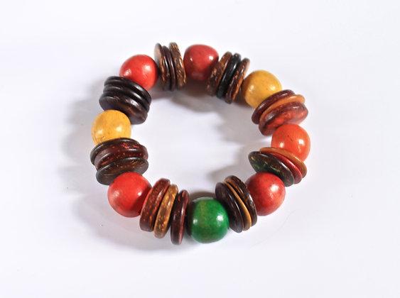 Ghana Wooden Bracelet