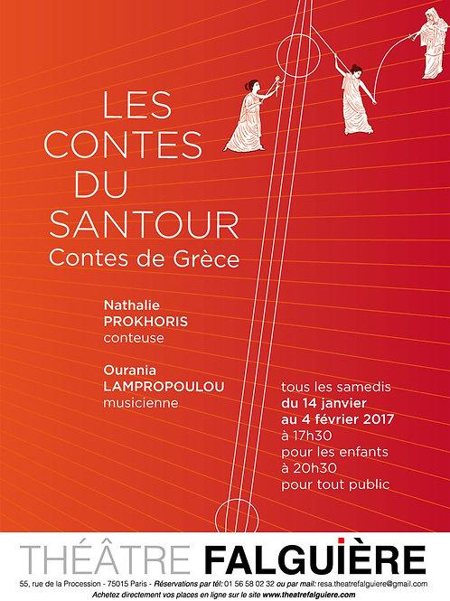 Les contes du Santour, samedis 14, 21, 28 janvier et 4 février à 20h30
