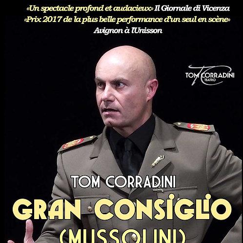 Gran Consiglio (Mussolini) - 19 et 20 oct 20h30