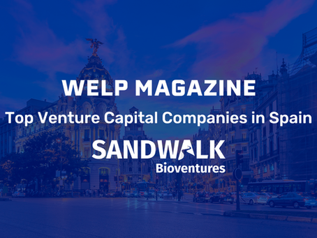 Sandwalk ranked among top-25 companies in the Venture Capital sector in Spain by Welp Magazine