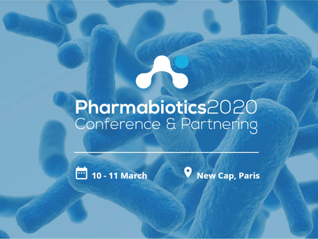 Sandwalk to sponsor and join the Pharmabiotics Event in Paris, March 10-11, 2020