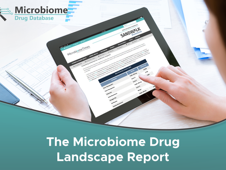 Sandwalk's Microbiome Drug Landscape Report is now available