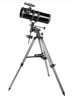 Quantum Optics 150-1400 EQ reflector telescope.JPG