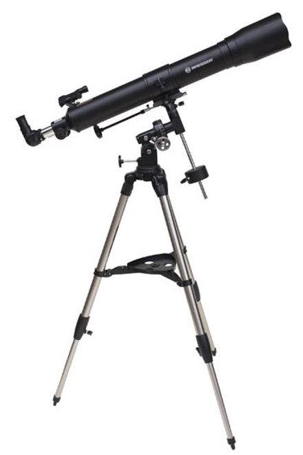 BRESSER Sky-Lux 80 / 900 EQ-Sky Refractor Telescope