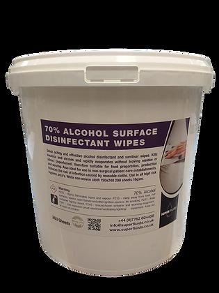 70% Alcohol Antibacterial Wipes
