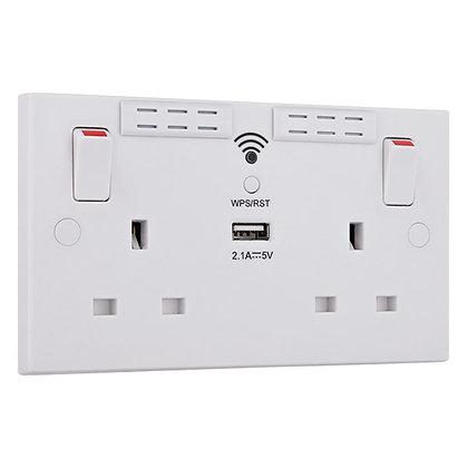 BG WiFi Double Socket 922UWR