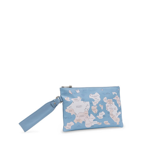 MAP.ME Medium pochette with handle