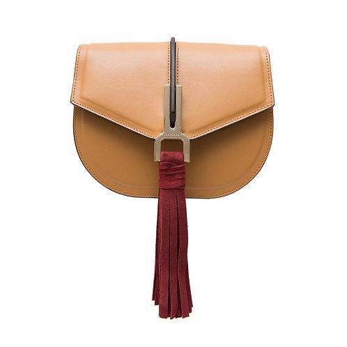 HORSEA PVT Medium saddle bag with chain