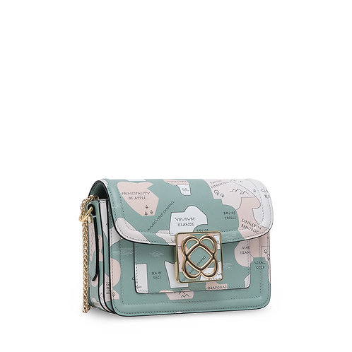 LOVE BAG small shoulder bag with chain
