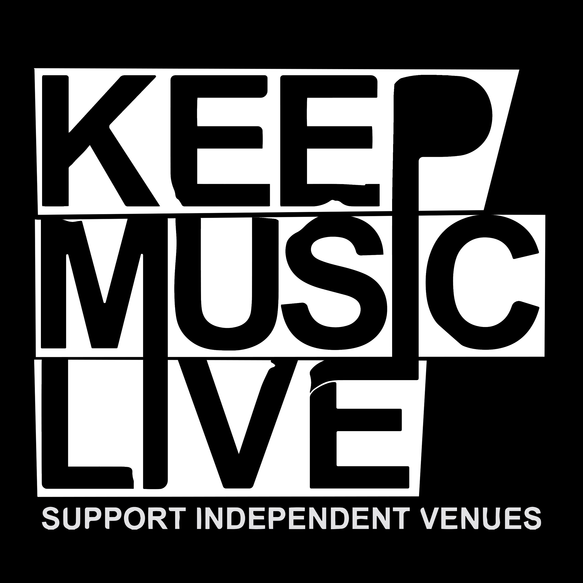 keep music live square colours