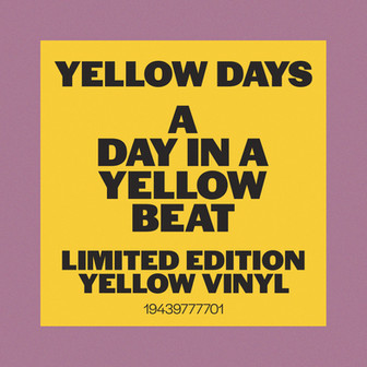 Yellow Days - A Day In A Yellow Beat. Sticker