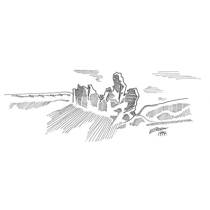 Eroda Rocks illustration