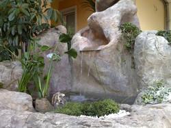 cascata i roccia artificiale 6