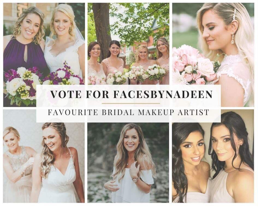 Vote for me as Favourite Bridal Makeup Artist