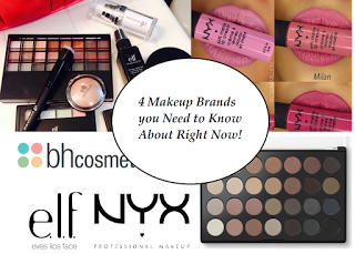4 Affordable Makeup Brands You Need to Know About!