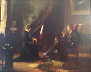 Nocturne de Chopin SA Colombes Henry Lerolle