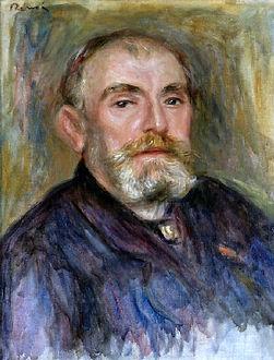 Pierre-Auguste Renoir, Portrait d'Henry Lerolle, 1895, collection particulière