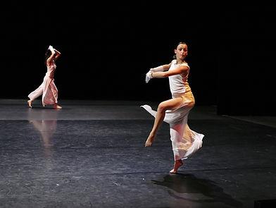 Weiblicher Tänzer