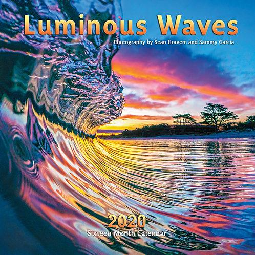Luminous Waves 2020 Calendar