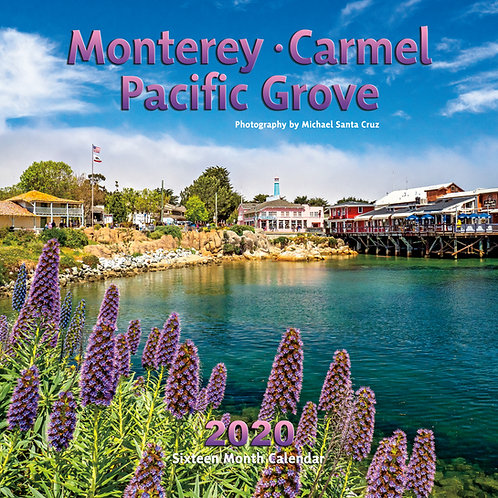 Monterey, Carmel, Pacific Grove 2020 Calendar