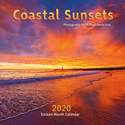 Coastal Sunsets 2020 Calendar