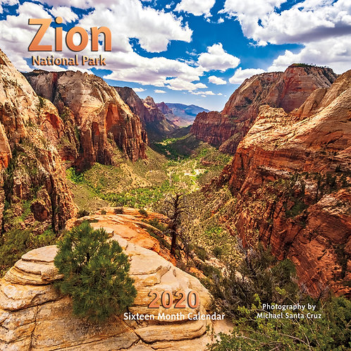 Zion National Park 2020 Calendar