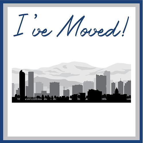 I've Moved Postcard