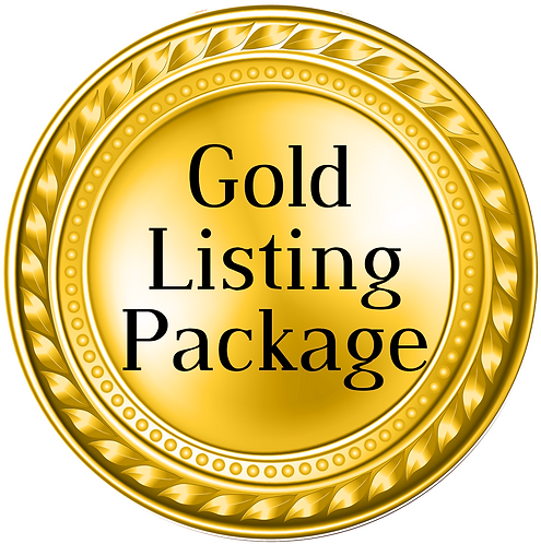 Gold Listing Package
