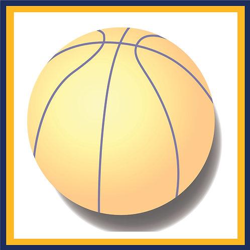Denver Basketball Schedule Postcard