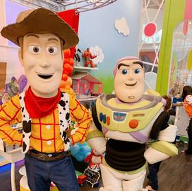 Woody e Buzz Lightyear - Toy Story