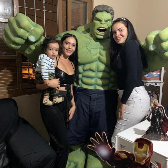 Personagem Hulk