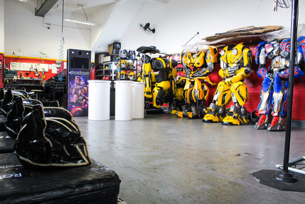 RoboLed - Robo de Led – Salão
