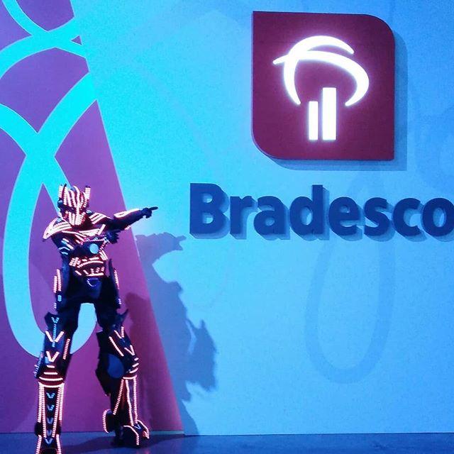 um evento finalizado no Banco Bradesco
