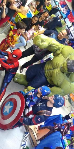 Personagens de super Heróis