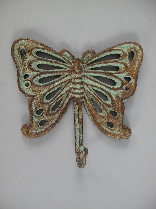 Wandhaak vlinder groen roest  326.090GR