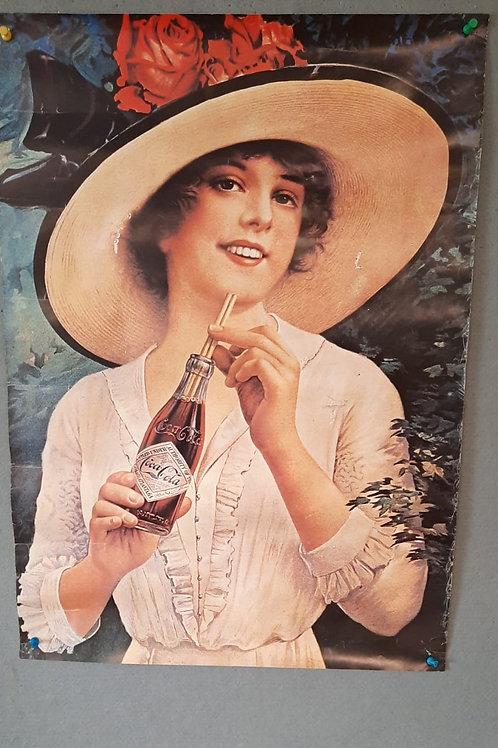 Reclameposter Coca Cola