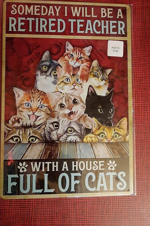 Full of Cats  K0019